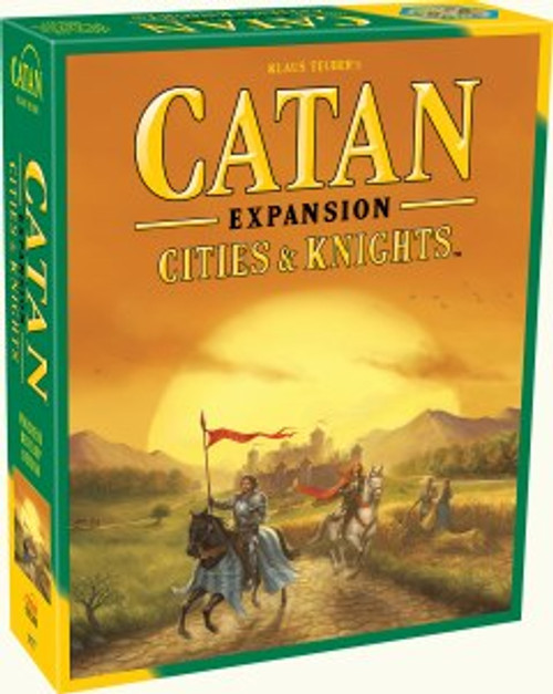 Catan: city and knights expansion box