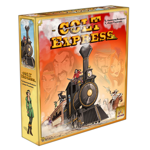 Box Image of Colt Express