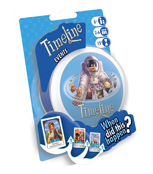 Timeline: Events packaging