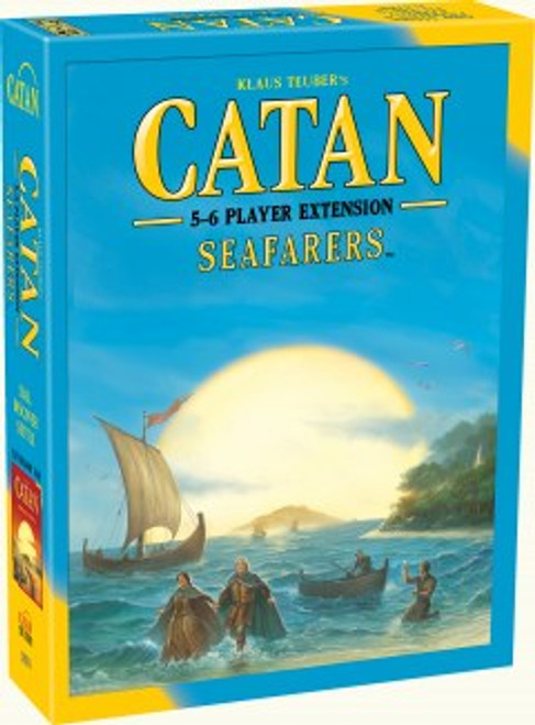 Seaferers Catan expansion 5-6 box