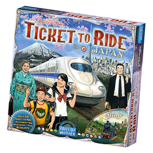 Ticket to Ride: Japan & Italy Maps box image