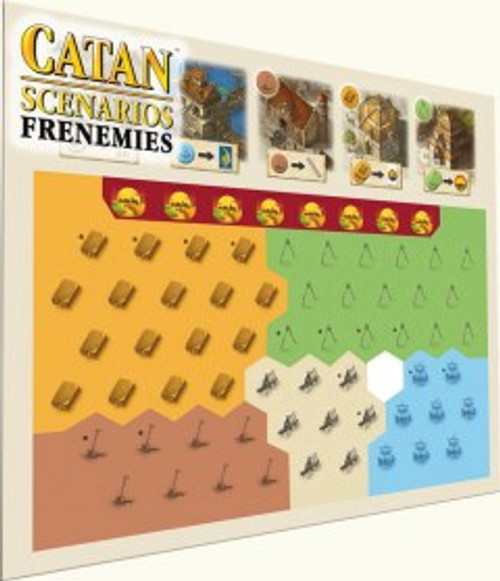Frenemies Catan expansion pieces