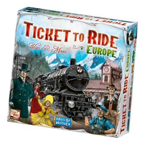 Ticket to Ride: Europe box image