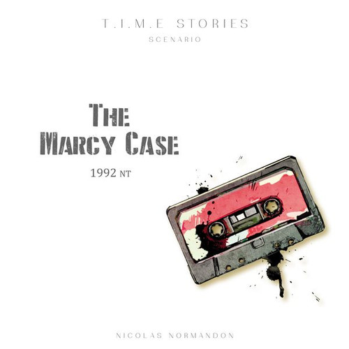 T.I.M.E. Stories: The Marcy Case box image