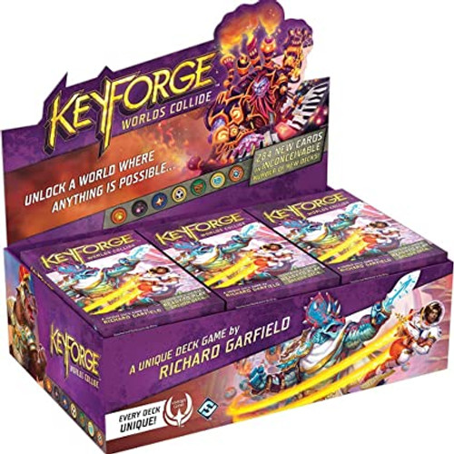 KeyForge Deck: Worlds Collide (Display)