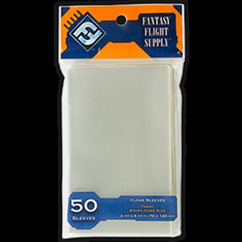 Fantasy Flight Orange: Clear Tarot Board Game Sleeves bag