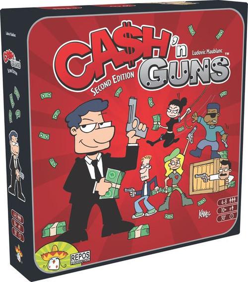 Cash and Guns (2nd Edition) box image