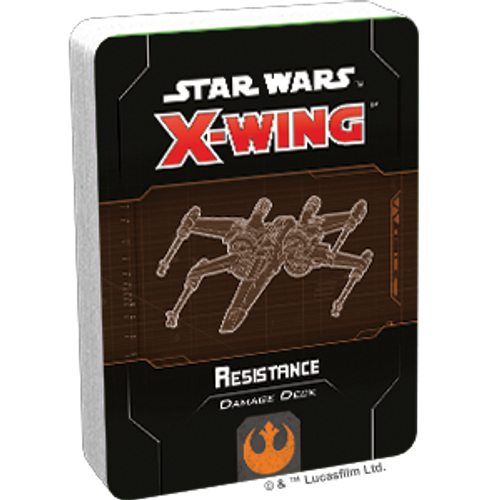 Star Wars X-Wing 2 Resistance Damage Deck