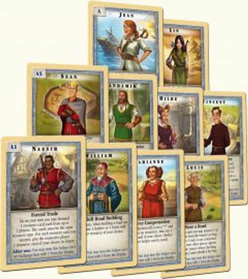 Helpers of Catan Cards