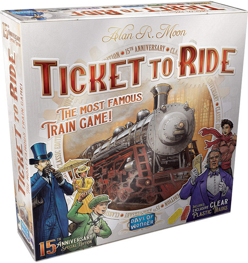 Ticket to Ride: 15th Anniversary Edition box image