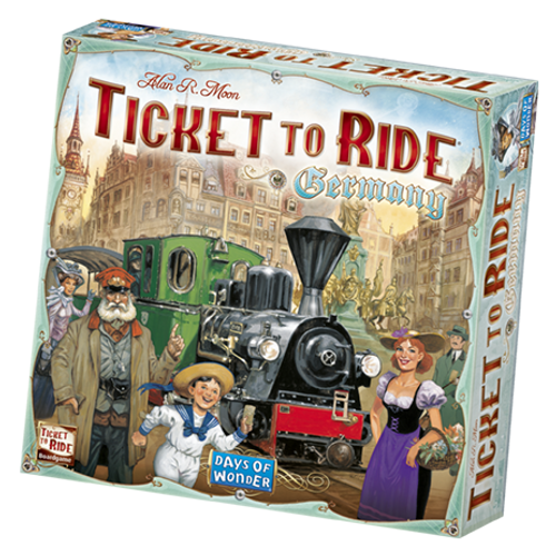 Ticket to Ride: Germany box image