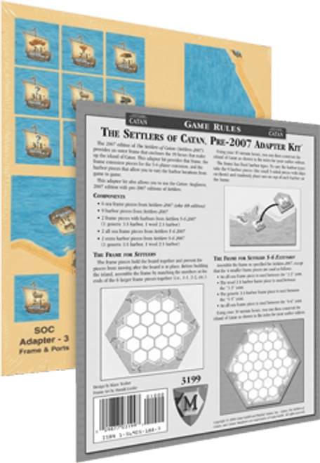 Settlers of Catan Pre-2007 Adapter Kit