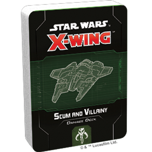 Star Wars X-Wing 2 Edition Scum and Villainy Damage Deck