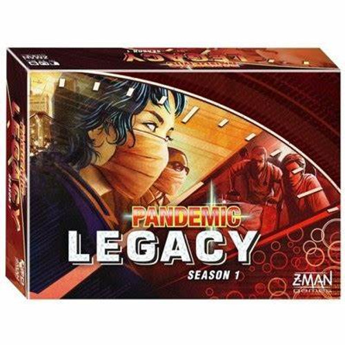 Pandemic: Legacy Season 1 Red