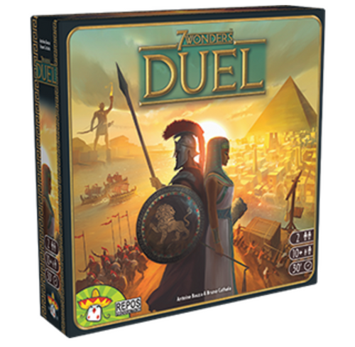 7 Wonders: Duel box image