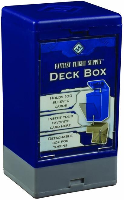 Compartment Deck Box Blue
