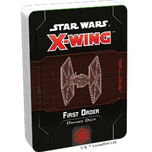 Star Wars X-Wing 2 Edition First Order Damage Deck Box