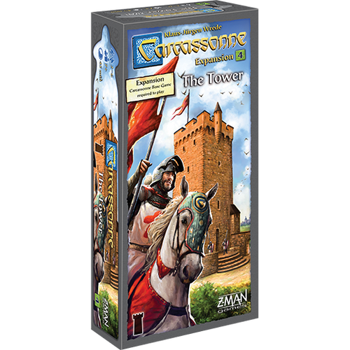 Carcassonne: The Tower Exp 4 box