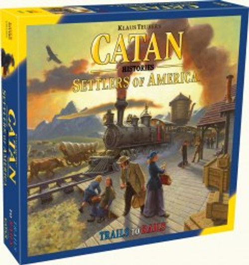 Catan: Settlers Of America board game Box