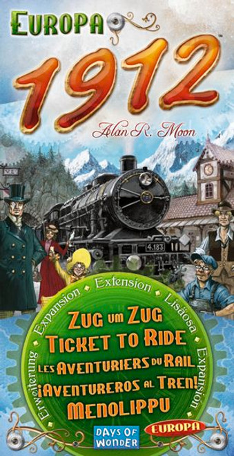 Ticket to Ride: Europa 1912 box image