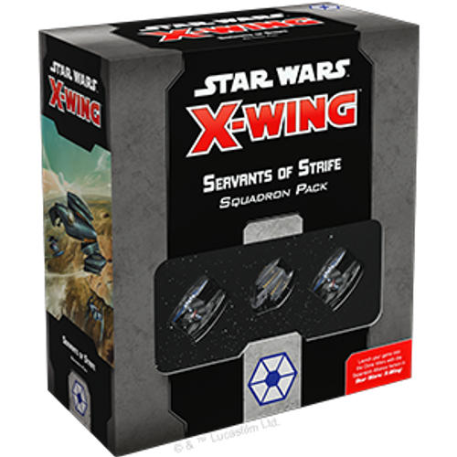Star WarsX-Wing 2e Servants of Strife box