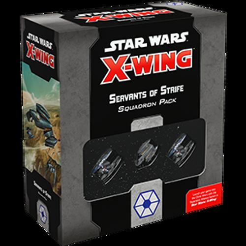 Star WarsX-Wing 2e Servants of Strife box