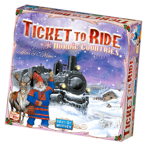 Ticket to Ride: Nordic Countries box image