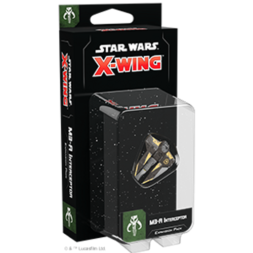 Star Wars X-Wing 2e M3-A Interceptor Expasion box