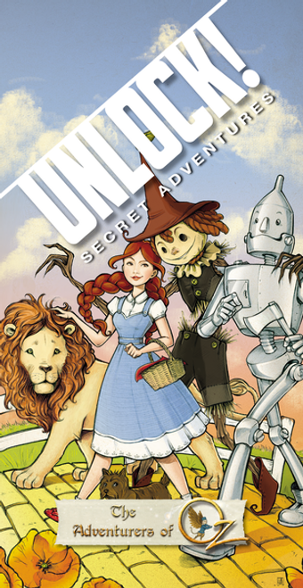 Unlock! Adventurers of Oz box image