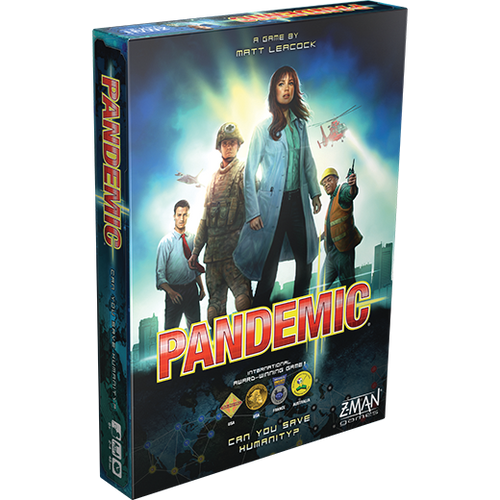 Pandemic (2013 edition) box