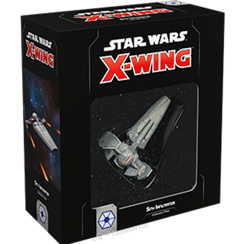 Star Wars X-Wing 2e Sith Infiltrator Box