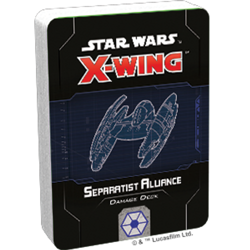 Star Wars X-Wing 2e separatist damage deck box