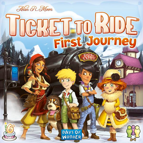 Ticket to Ride: First Journey - Europe box image