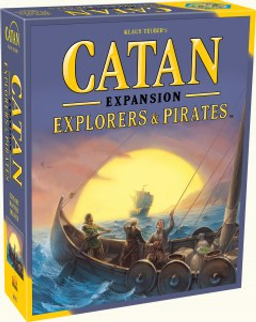 Explorer and Pirates Expansion Box of Catan
