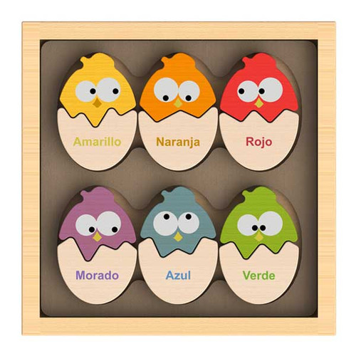 Color 'N Eggs Puzzle