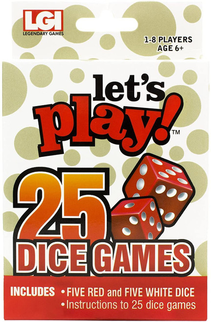 Dice - Let's Play 25 Games