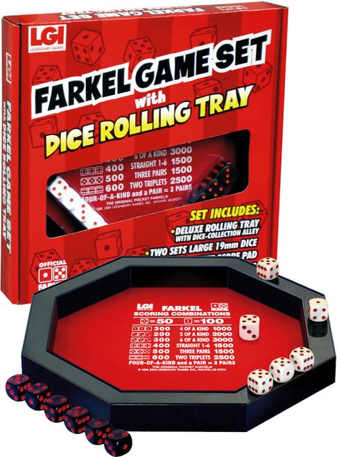 Farkel Rolling Tray Set