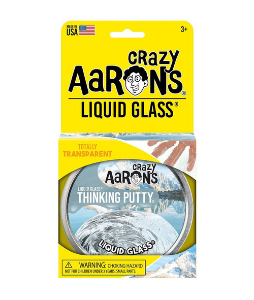 Liquid Glass Thinking Putty packaging