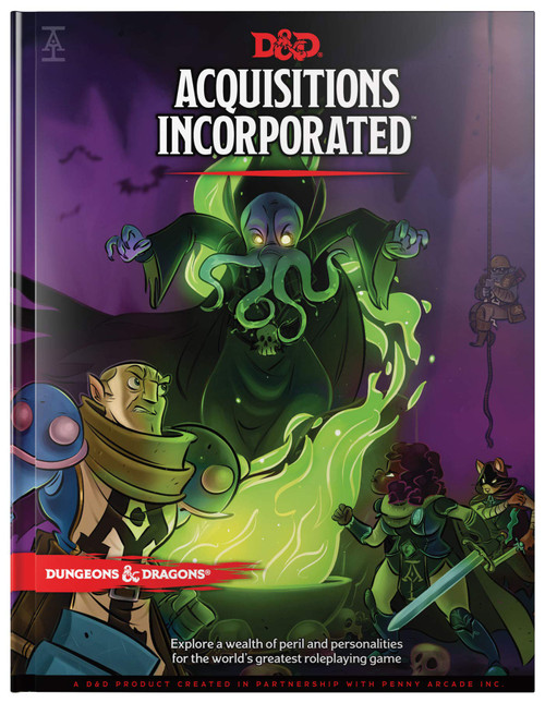 Acquisitions Incorporated cover photo