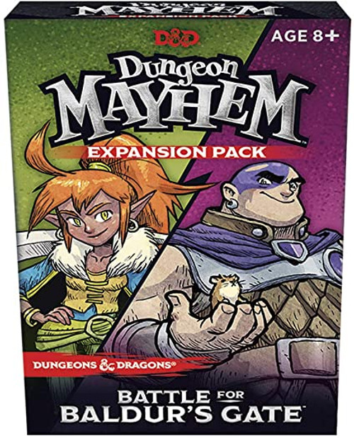 Dungeon Mayhem Baldur's Gate box photo