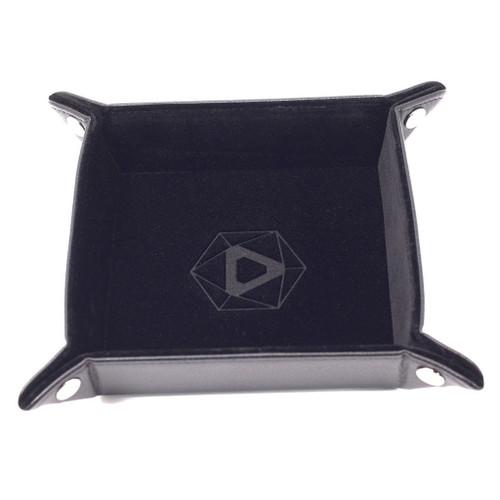 black dice tray folding image