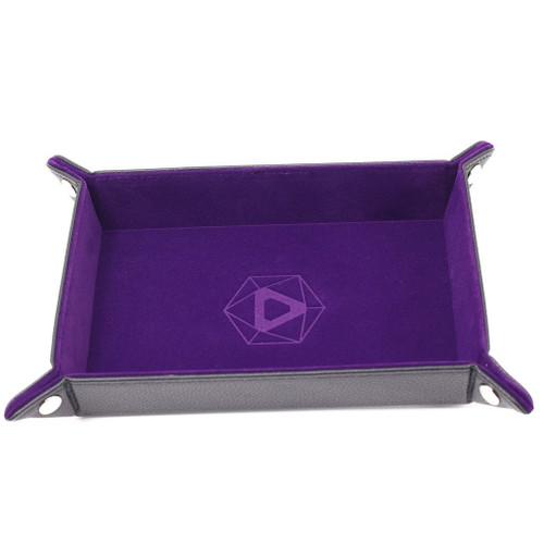 purple dice tray