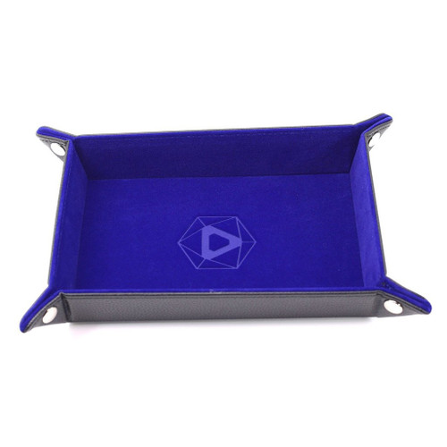 rectangle blue dice tray image