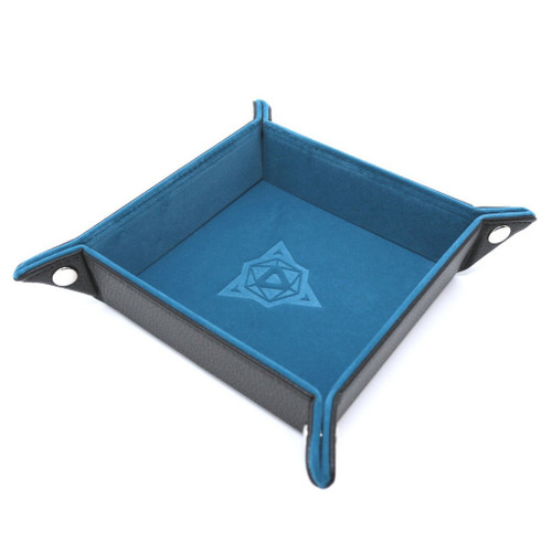 Teal dice tray image