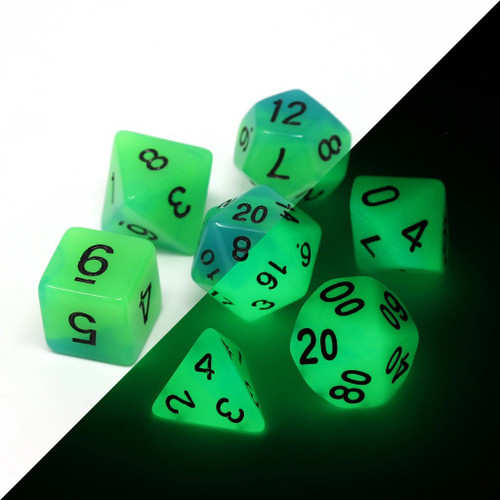 image of dice set