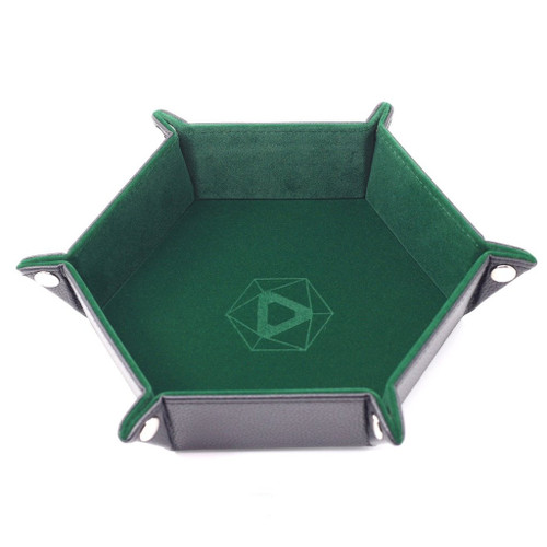 image of green tray