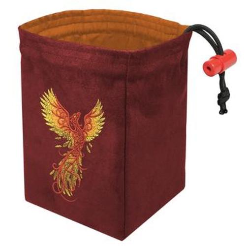 Dice Bag Phoenix Rising Red