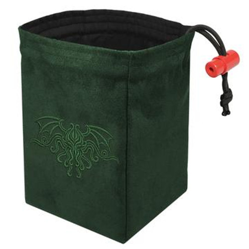 Dice Bag Cthulhu Crest Green