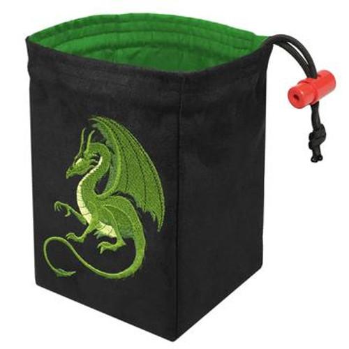 Dice Bag Green Dragon