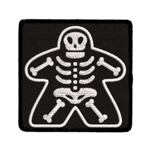 Patch Meeple Skeleton